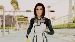 Mass Effect 3 Dr. Eva New Short Hair
