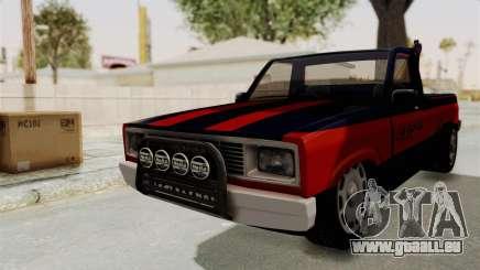 Mazda Tow Truck Pickup pour GTA San Andreas