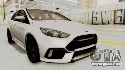 Ford Focus RS 2017 pour GTA San Andreas