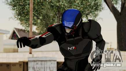 ME2 Shepard Default N7 Armor with Capacitor Helm pour GTA San Andreas