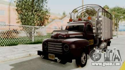 Ford 49 Con Estacas pour GTA San Andreas