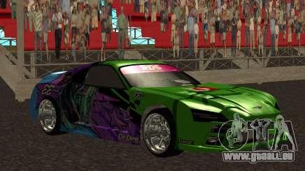 Toyota Supra Evil Empire für GTA San Andreas