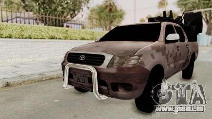 Toyota Hilux 2014 Army Libyan für GTA San Andreas