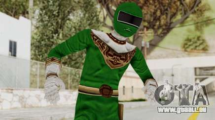 Power Ranger Zeo - Green für GTA San Andreas