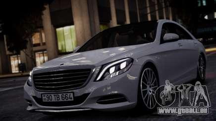 Mercedes-Benz w222 für GTA 4