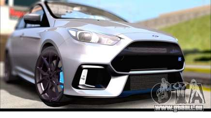 Ford Focus RS 2017 für GTA San Andreas