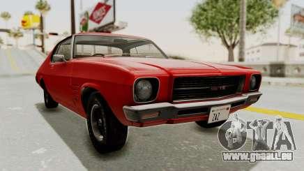 Holden Monaro GTS 1971 SA Plate IVF pour GTA San Andreas