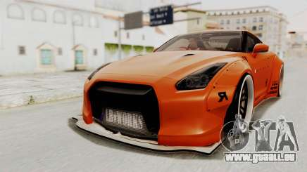Nissan GT-R R35 Liberty Walk LB Performance für GTA San Andreas