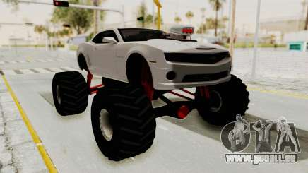Chevrolet Camaro SS 2010 Monster Truck pour GTA San Andreas
