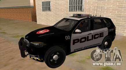 2014 BMW X5 F15 Police pour GTA San Andreas