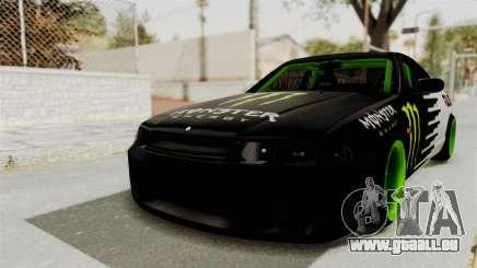 Nissan Skyline R33 Drift Monster Energy Falken pour GTA San Andreas