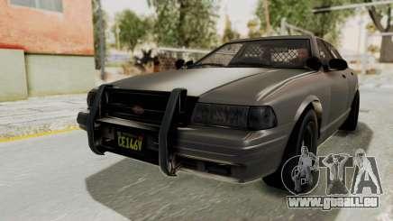 GTA 5 Vapid Stanier II Police Cruiser 2 IVF für GTA San Andreas