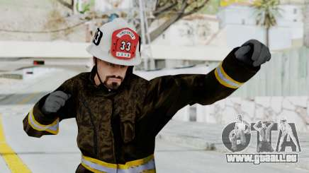 GTA 5 Fireman SF pour GTA San Andreas