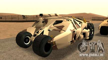 Army Tumbler Gun Tower from TDKR pour GTA San Andreas