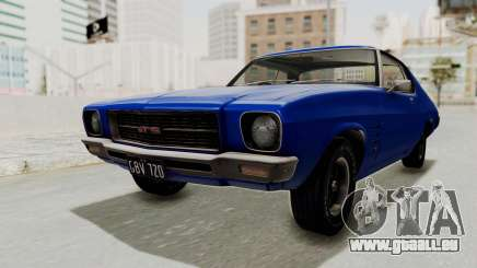 Holden Monaro GTS 1971 AU Plate IVF pour GTA San Andreas