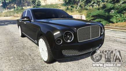 Bentley Mulsanne 2010 pour GTA 5