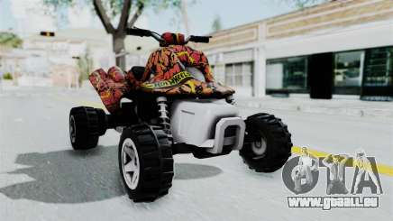 Sand Stinger from Hot Wheels v2 pour GTA San Andreas