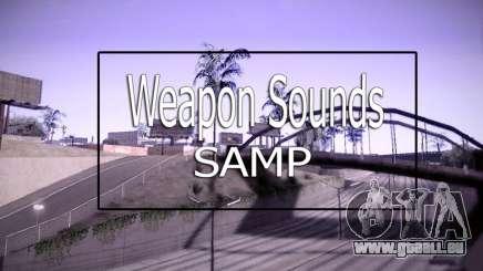 Weapon Sounds pour GTA San Andreas