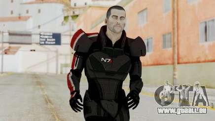Mass Effect 2 Shepard Default N7 Armor No Helmet für GTA San Andreas