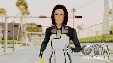 Mass Effect 3 Dr. Eva New Short Hair pour GTA San Andreas