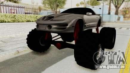 Pontiac Firebird Trans Am 2002 Monster Truck pour GTA San Andreas