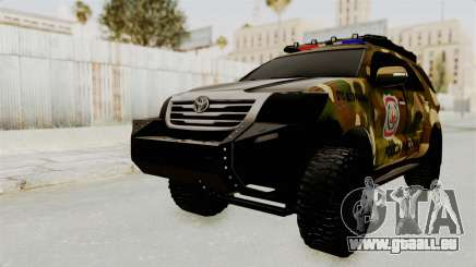 Toyota Fortuner 4WD 2015 Paraguay für GTA San Andreas