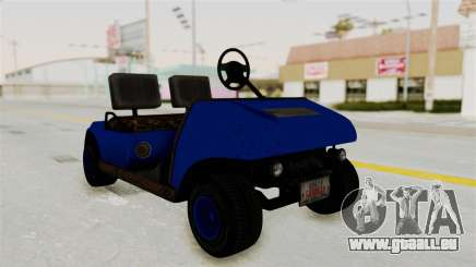 GTA 5 Gambler Caddy Golf Cart IVF für GTA San Andreas