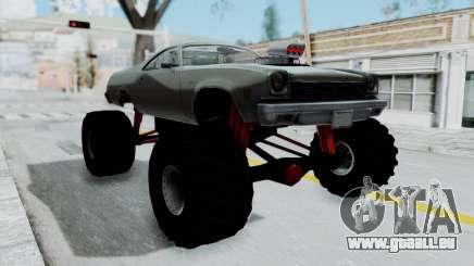 Chevrolet El Camino 1973 Monster Truck für GTA San Andreas