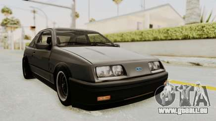 Ford Sierra Mk1 Drag Version für GTA San Andreas
