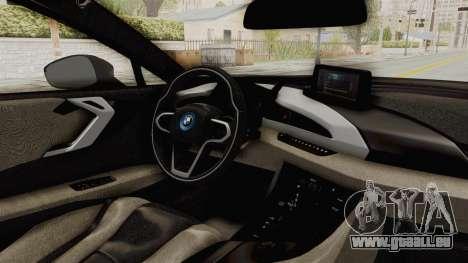 BMW i8-VS 2015 für GTA San Andreas Innenansicht