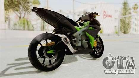 Yamaha MX King 150 Modif 250 GP pour GTA San Andreas vue de droite