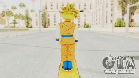 Dragon Ball Xenoverse Gohan Teen DBS SSJ1 v2 pour GTA San Andreas troisième écran