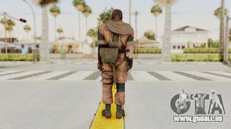 MGSV The Phantom Pain Venom Snake Scarf v5 für GTA San Andreas dritten Screenshot