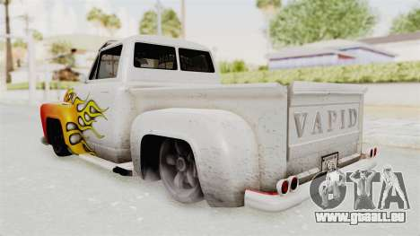 GTA 5 Slamvan Lowrider PJ1 für GTA San Andreas obere Ansicht