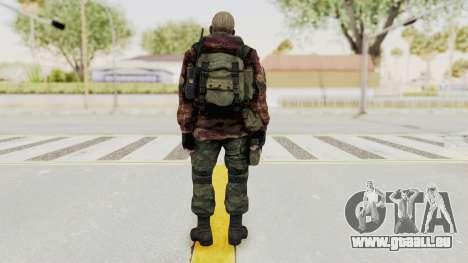 Battery Online Russian Soldier 10 v3 für GTA San Andreas dritten Screenshot