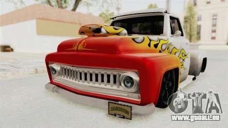 GTA 5 Slamvan Lowrider PJ1 für GTA San Andreas Seitenansicht