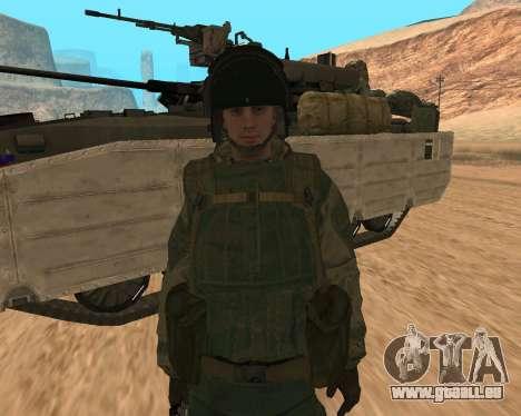 Des forces spéciales de la Fédération de russie pour GTA San Andreas troisième écran