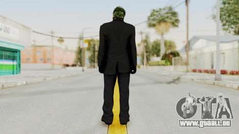 Joker Heist Outfit GTA 5 Style pour GTA San Andreas troisième écran