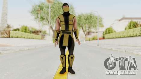 Mortal Kombat X Klassic Scorpion für GTA San Andreas zweiten Screenshot