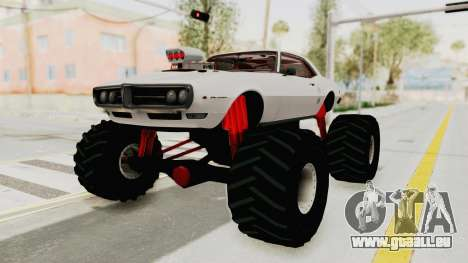 Pontiac Firebird 400 1968 Monster Truck für GTA San Andreas