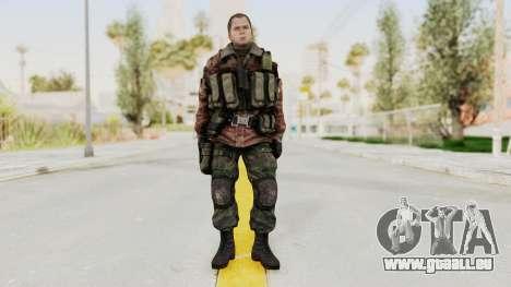 Battery Online Russian Soldier 9 v2 für GTA San Andreas zweiten Screenshot