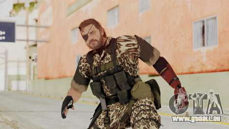 MGSV The Phantom Pain Venom Snake Animals pour GTA San Andreas