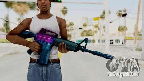 Vice M4 pour GTA San Andreas troisième écran