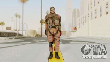 MGSV The Phantom Pain Venom Snake Scarf v5 für GTA San Andreas zweiten Screenshot