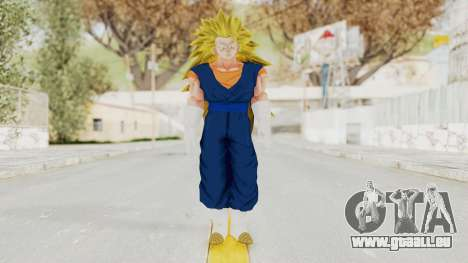 Dragon Ball Xenoverse Vegito SSJ3 für GTA San Andreas zweiten Screenshot