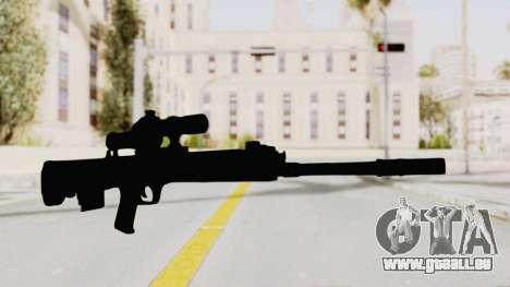 QBU-88 pour GTA San Andreas deuxième écran
