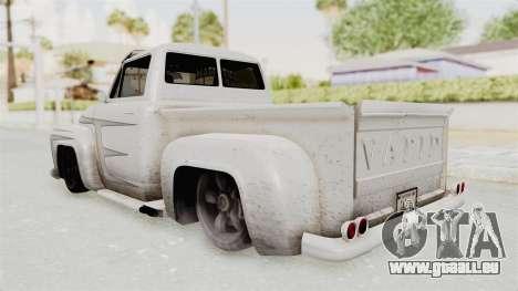 GTA 5 Slamvan Lowrider PJ1 für GTA San Andreas Innenansicht