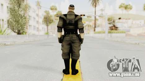 Russian Solider 2 from Freedom Fighters pour GTA San Andreas troisième écran