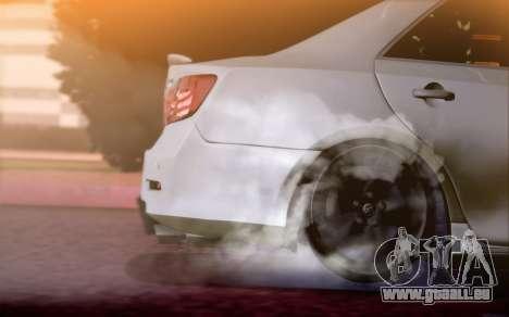 Toyota Camry V6 Sprot Edition für GTA San Andreas Rückansicht