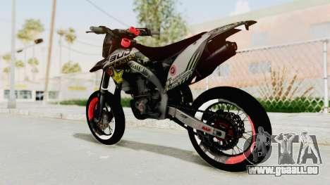 Kawasaki KLX 150S Supermoto pour GTA San Andreas laissé vue